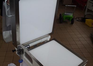 Table de visée intégré et monté par PEM (Valence - Drôme)